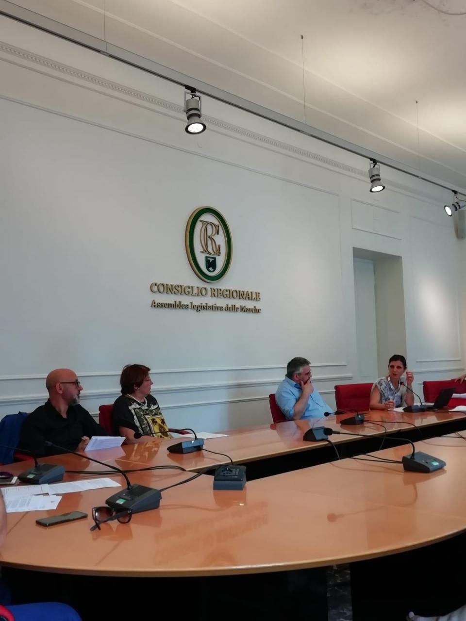 IV Commissione Salute della Regione Marche