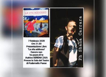 """Eventi: """"La vita addosso"""" di Serena Zaia, un libro che sostiene un progetto."""